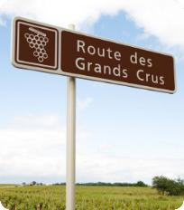 Route des Grands Crus sign